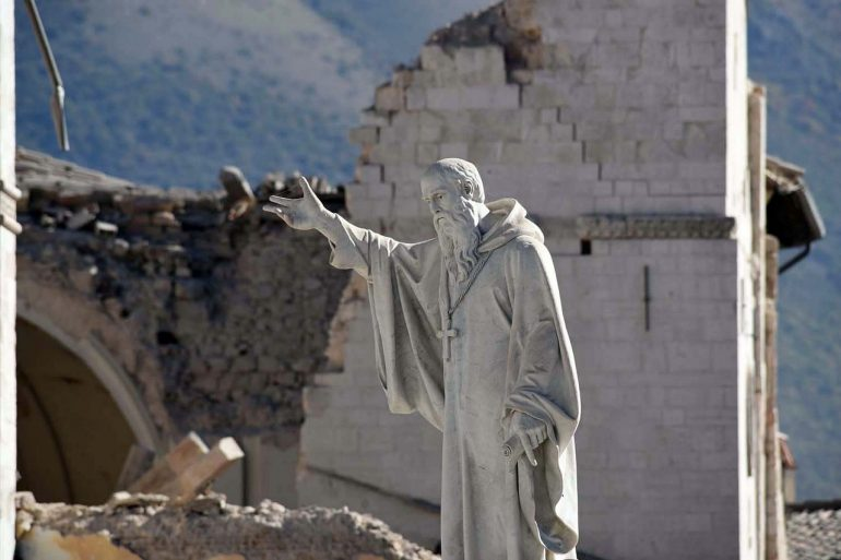 Conservation Rebuilding Italy Earthquake