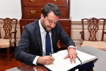 Italy Government Crisis Salvini