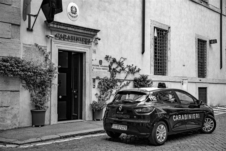 Police Carabinieri Rega