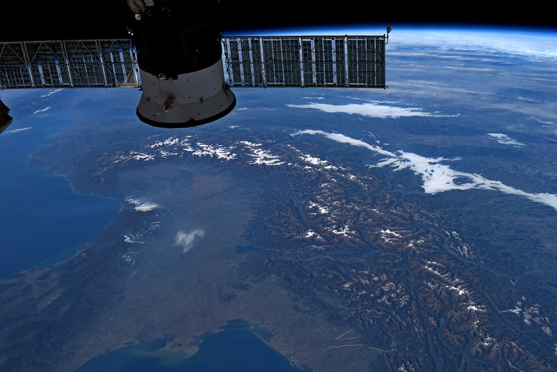 Luca Parmitano: Italy Seen from Space
