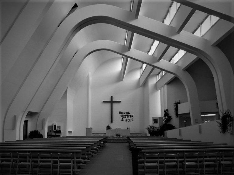 Alvar Aalto's Church Bologna