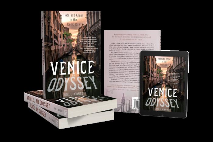 Venice an Odyssey Book cover