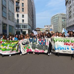 Green No Deal - FFF March in Milan