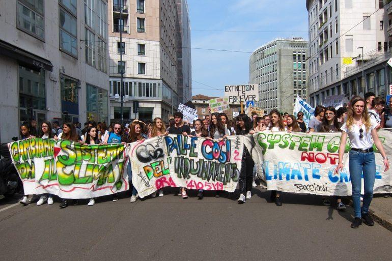 Green No Deal - FFF March in Milan