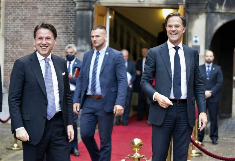 Conte Rutte Italy Netherlands