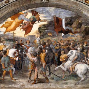 Government Crisis - Incontro di Leone Magno e Attilia