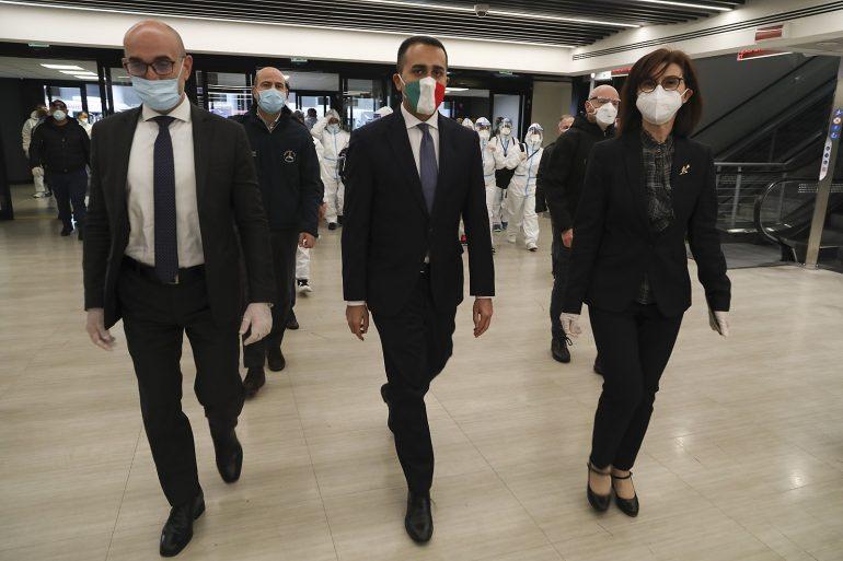Italy Diplomacy Di Maio