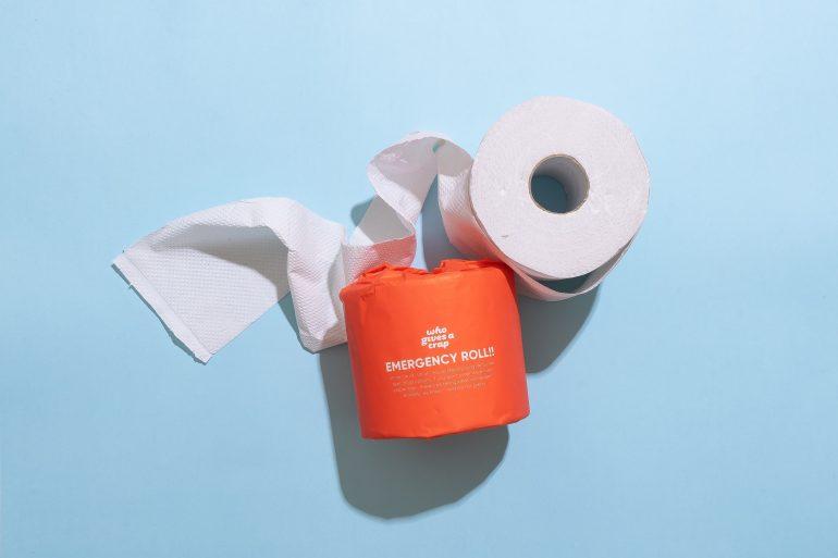 Toilet paper bidet