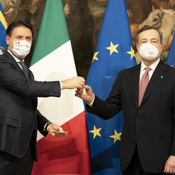 Italian Government Draghi Conte