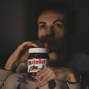 Nutella jar