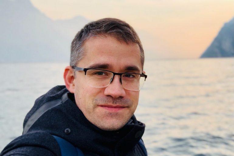 climate change activist Francesco Della Gassa