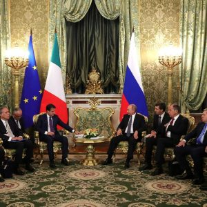 Italian International Relations Russia