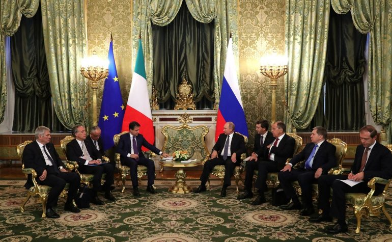 Italian International Relations Russia