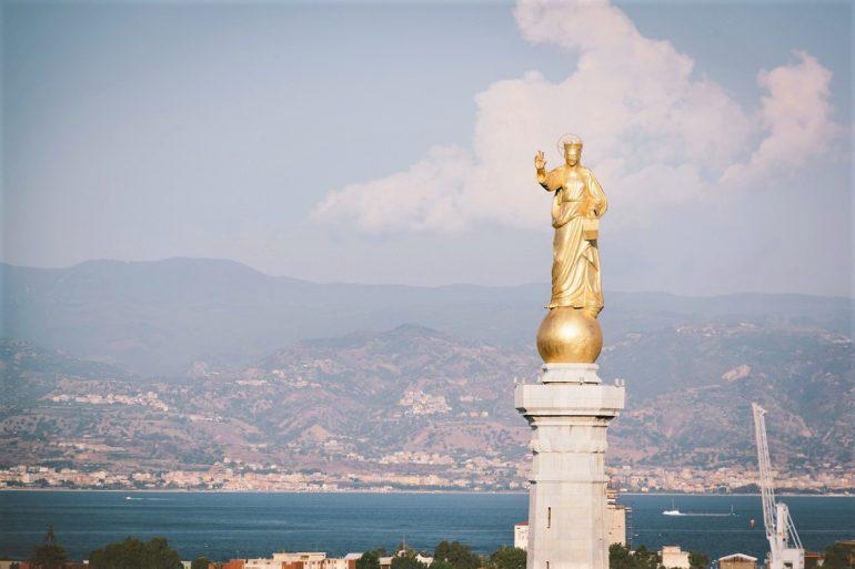 Bridge Sicily Calabria Strait