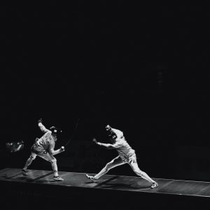 Fencing athletes Italy