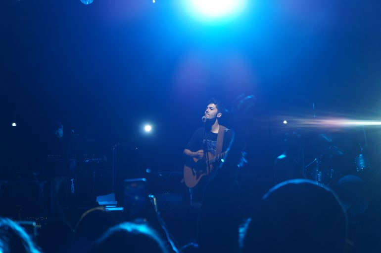 Fulminacci in concert