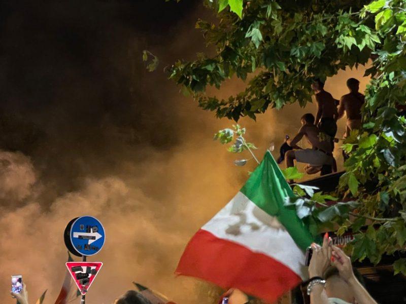 Euro 2020 celebrations in Italy