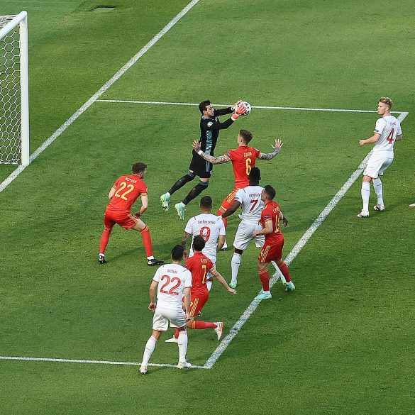 EURO 2020 soccer match