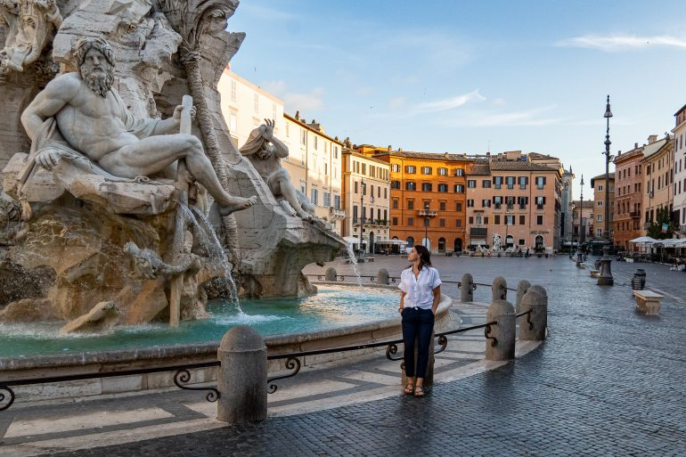 Italy cultural powerhouse Piazza Navona