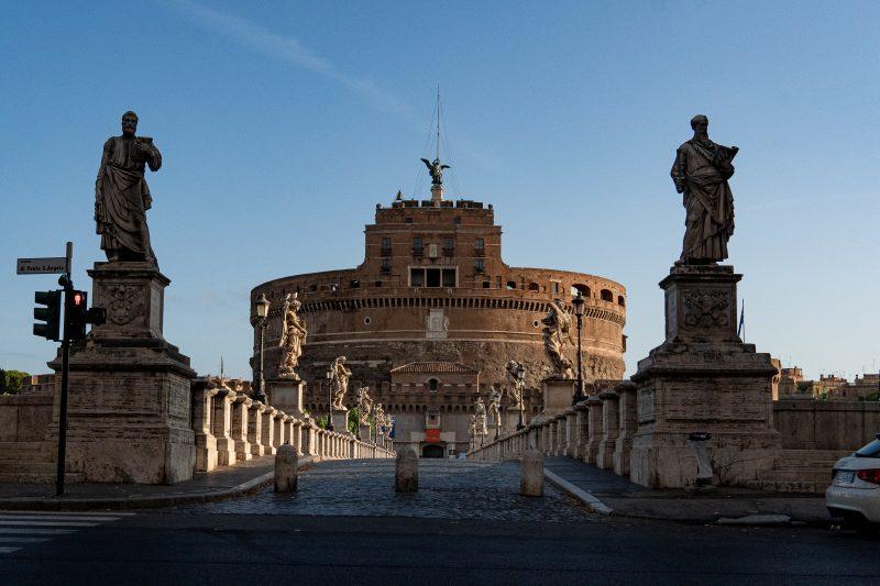 Europe's cultural powerhouse Castel Sant'Angelo