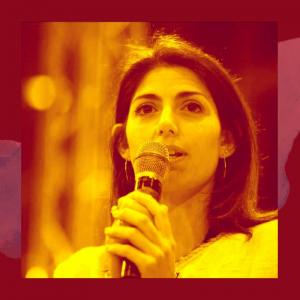 Rome's Mayor Virginia Raggi