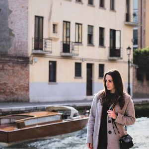 Italy Woman in Venice