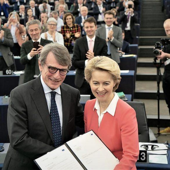State of the Union speech Sassoli Ursula von der Leyen
